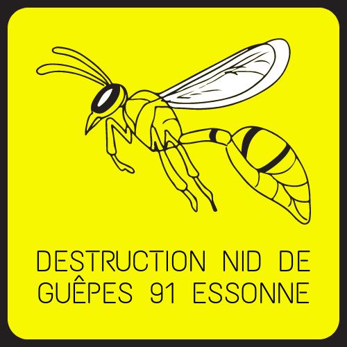 destruction nid de guepes 91 Essonne